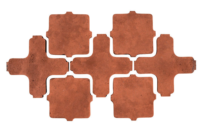 Artillo Arabesque 11A Mission Red Limestone