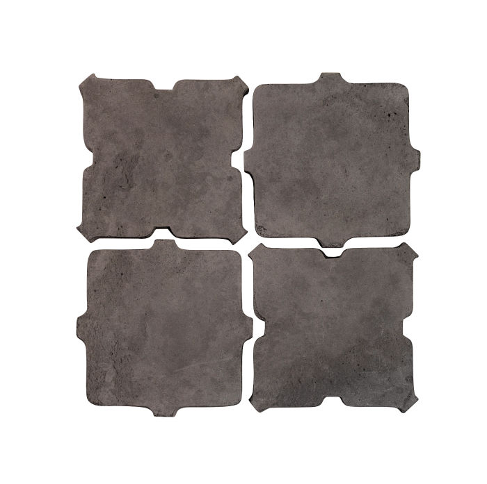 Artillo Arabesque 11B Charcoal Limestone