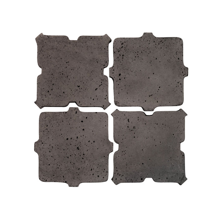 Artillo Arabesque 11B Charcoal Travertine