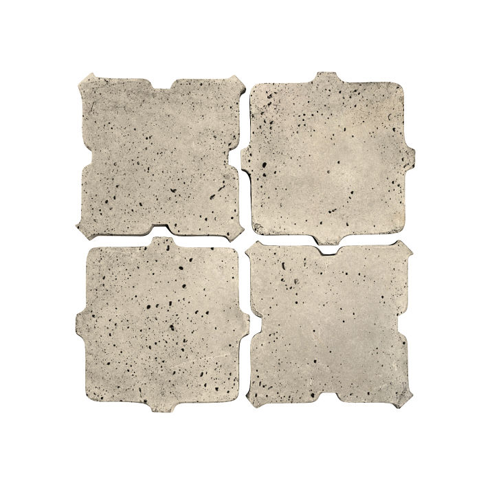 Artillo Arabesque 11B Early Gray Travertine
