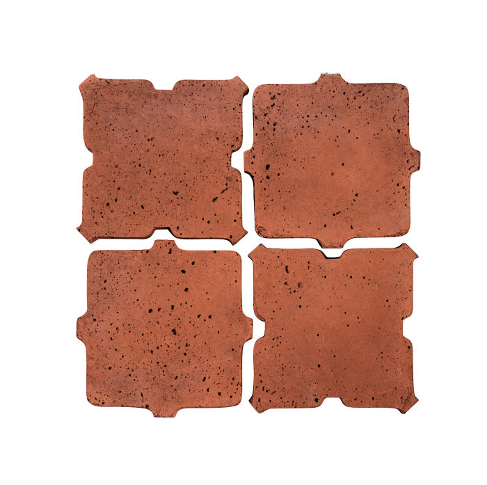 Artillo Arabesque 11B Mission Red Travertine