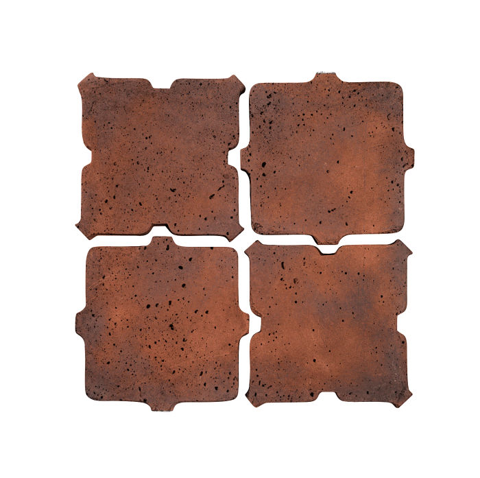 Artillo Arabesque 11B Red Flash Travertine