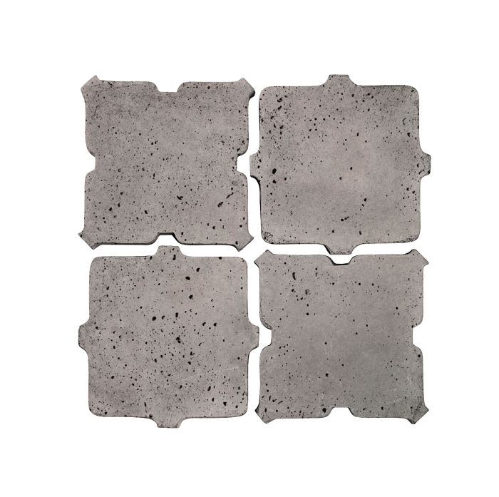 Artillo Arabesque 11B Sidewalk Gray Travertine