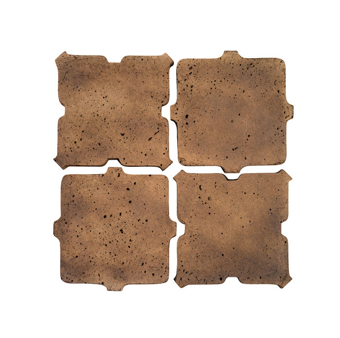 Artillo Arabesque 11B Tuscan Mustard Travertine