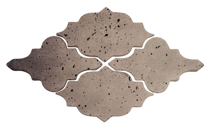 Artillo Arabesque 12 Antik Gray Travertine
