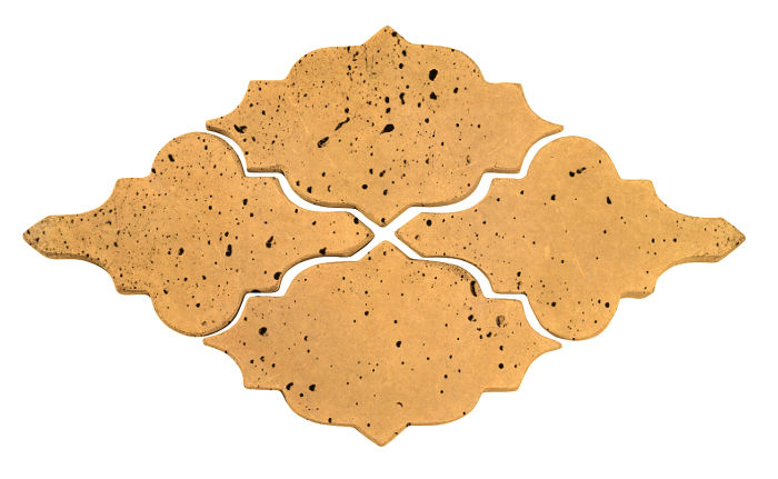Artillo Arabesque 12 Buff Travertine