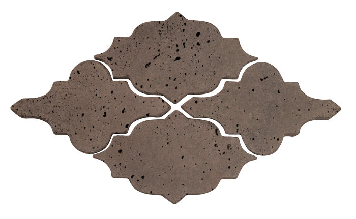 Artillo Arabesque 12 Charley Brown Travertine