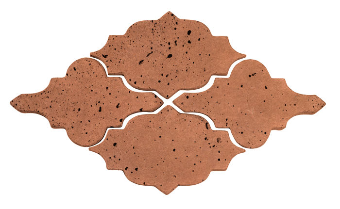 Artillo Arabesque 12 Cotto Gold Travertine