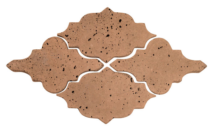 Artillo Arabesque 12 Flagstone Travertine