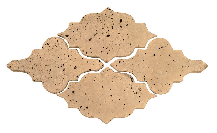 Artillo Arabesque 12 Old California Travertine