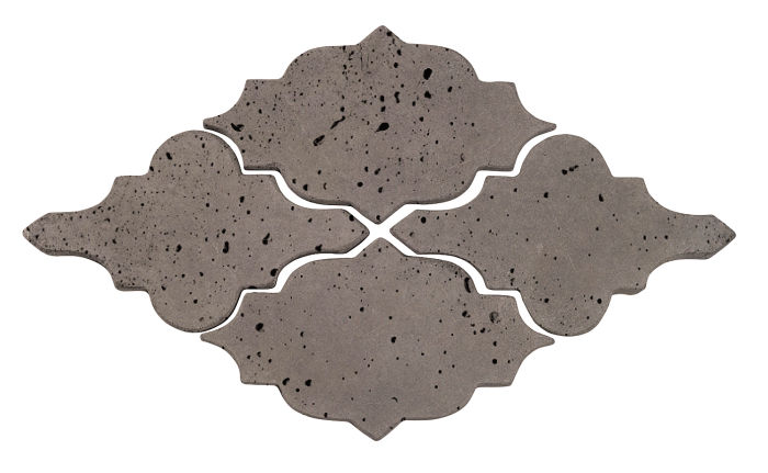 Artillo Arabesque 12 Smoke Travertine