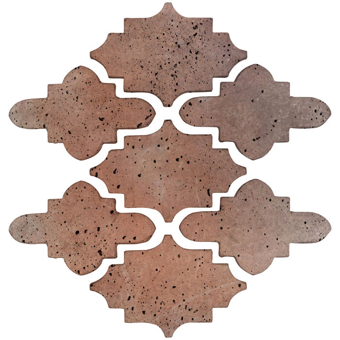 Arab 15 Small Artillo Beachwood Flash Travertine