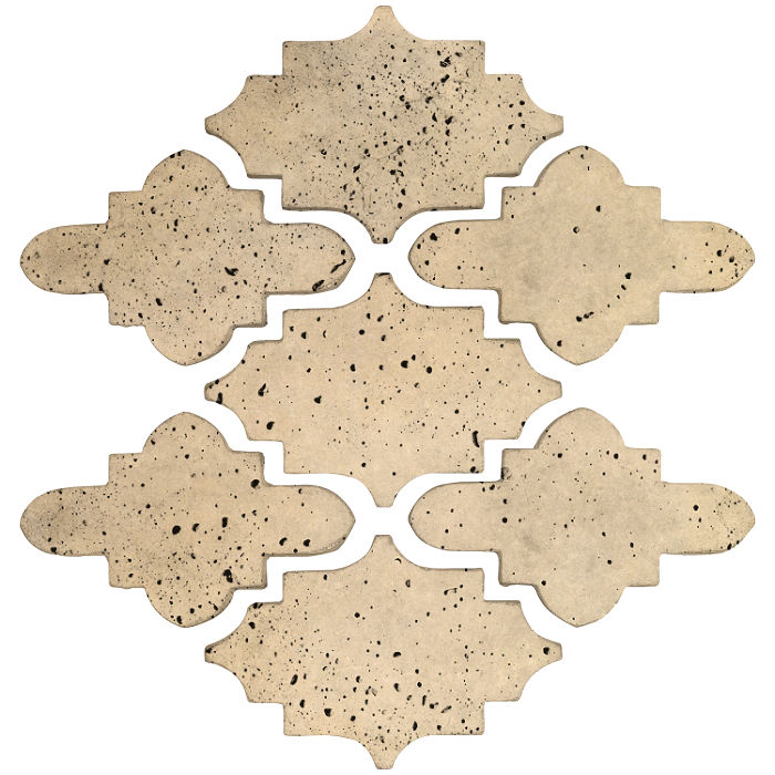 Arab 15 Small Artillo Bone Travertine