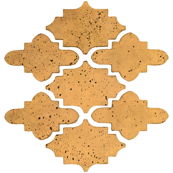 Arab 15 Small Artillo Buff Travertine
