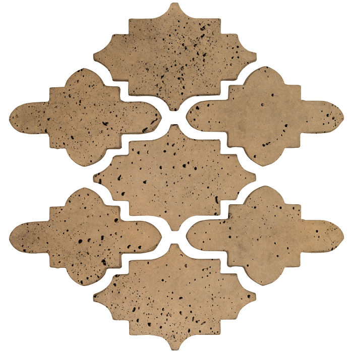Arab 15 Small Artillo Caqui Travertine