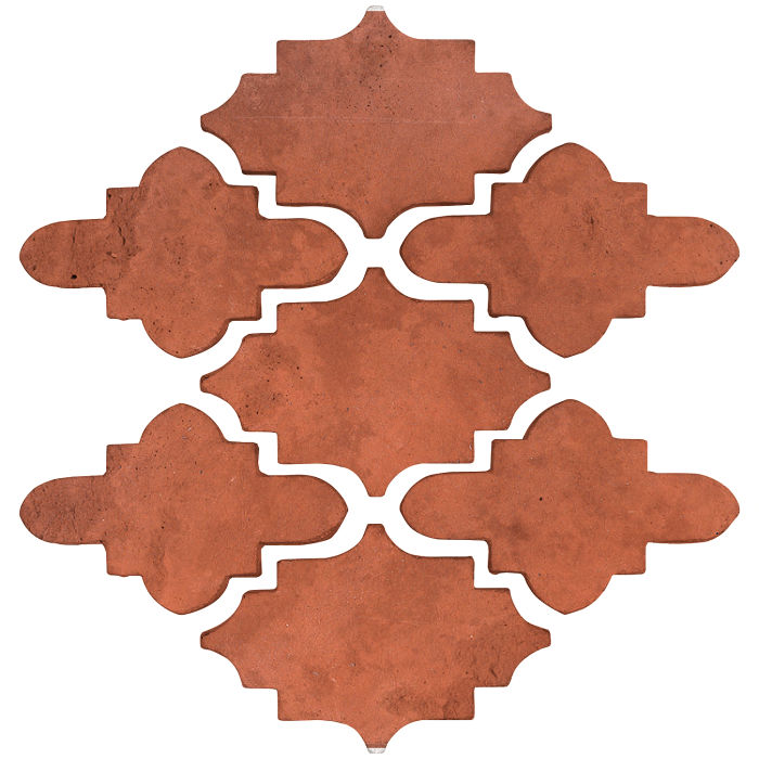 Arab 15 Small Artillo Mission Red Limestone