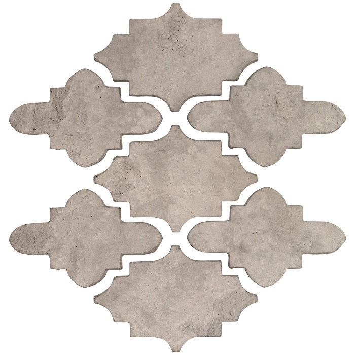 Arab 15 Small Artillo Natural Gray Limestone