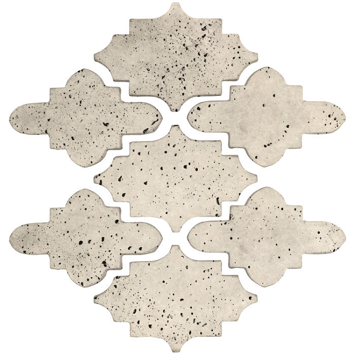 Arab 15 Small Artillo Rice Travertine