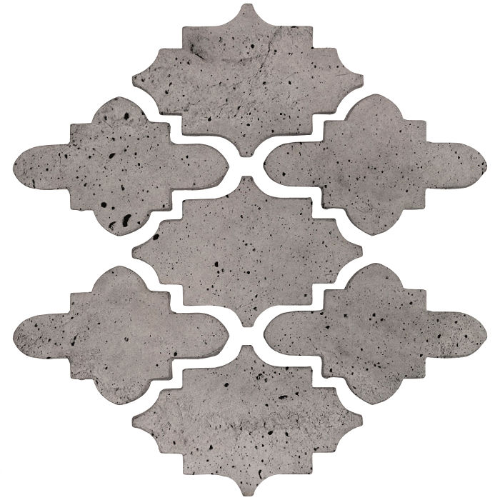 Arab 15 Small Artillo Sidewalk Gray Luna