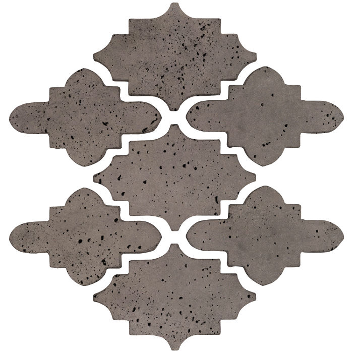Arab 15 Small Artillo Smoke Travertine