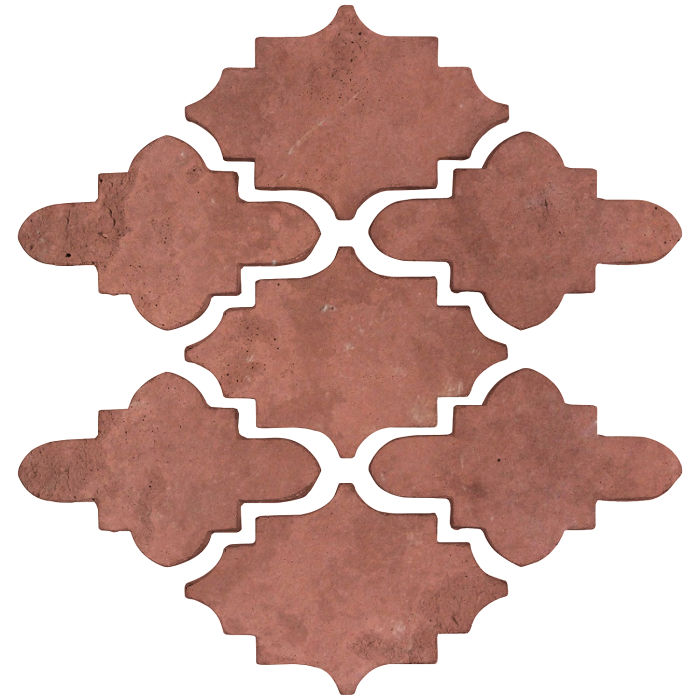 Arab 15 Small Artillo Spanish Inn Red Limestone