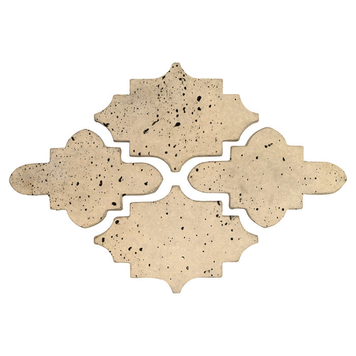 Arab 15 Artillo Bone Travertine