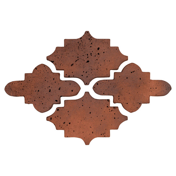 Arab 15 Artillo Red Flash Travertine