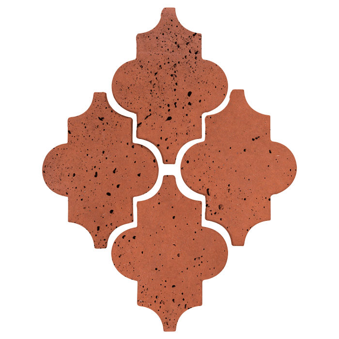 Arab 16 Artillo Mission Red Travertine