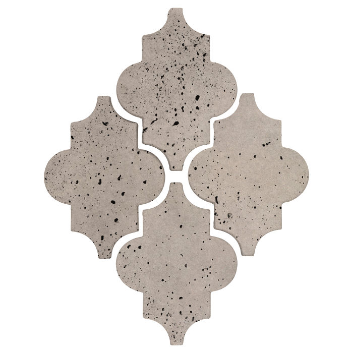 Arab 16 Artillo Natural Gray Travertine