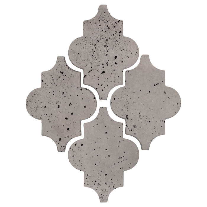 Arab 16 Artillo Sidewalk Gray Travertine