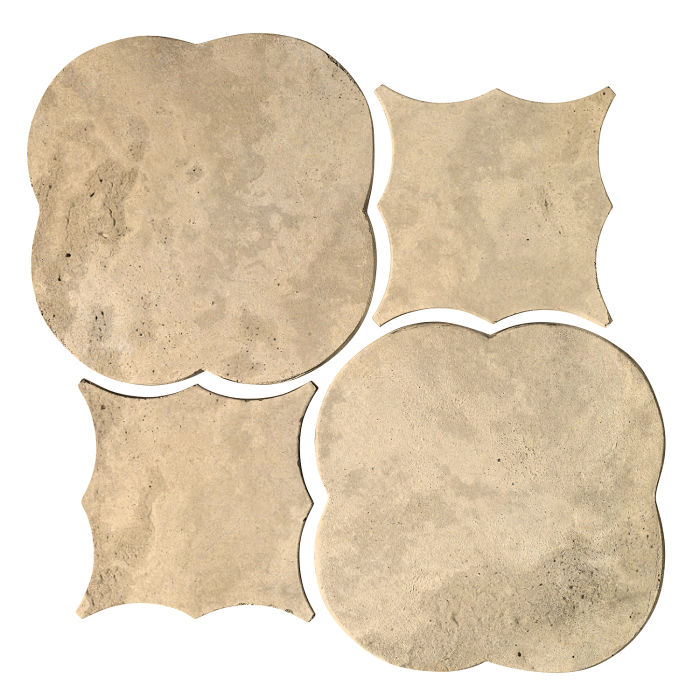 Artillo Arabesque 1 Bone Limestone