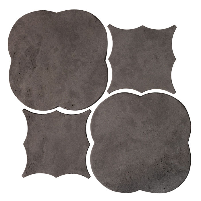 Artillo Arabesque 1 Charcoal Limestone