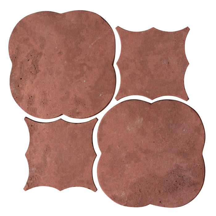 Artillo Arabesque 1 Spanish Inn Red Limestone