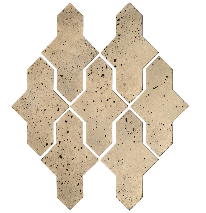 Artillo Arabesque 2A Bone Travertine
