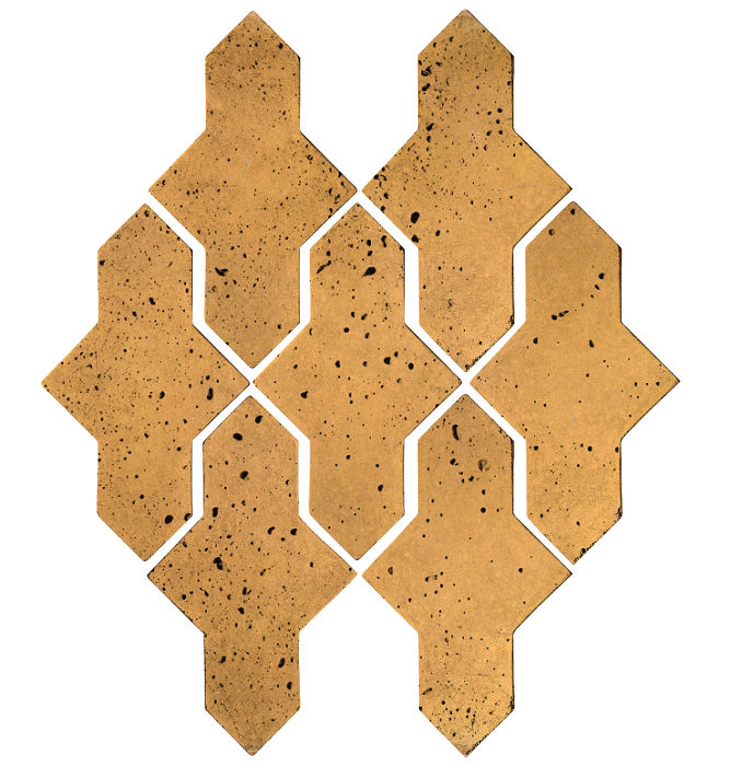 Artillo Arabesque 2A Buff Travertine