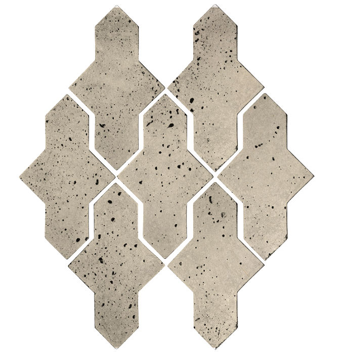 Artillo Arabesque 2A Early Gray Travertine