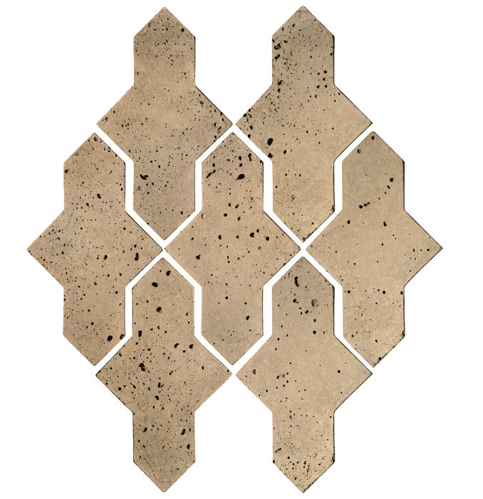 Artillo Arabesque 2A Hacienda Travertine