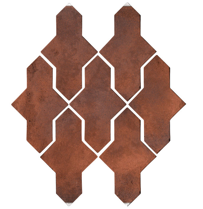 Artillo Arabesque 2A Red Flash Limestone