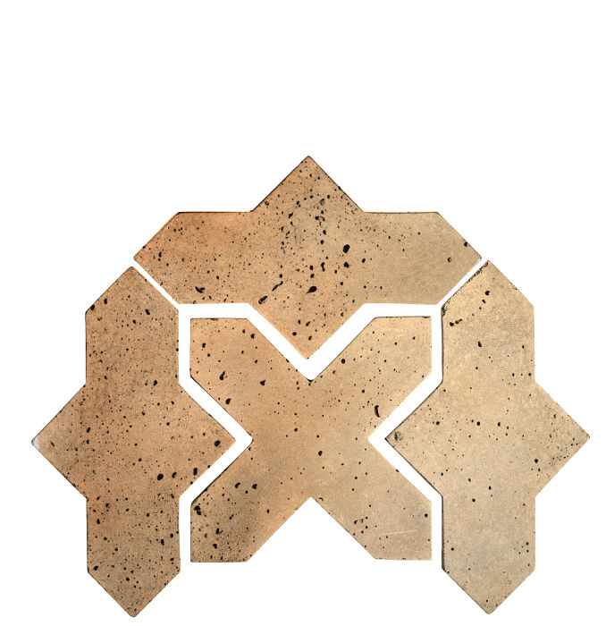 Artillo Arabesque 2B Hacienda Flash Travertine