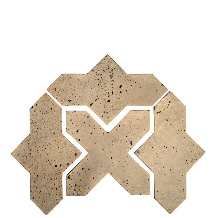 Artillo Arabesque 2B Hacienda Travertine