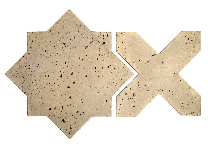 Artillo Arabesque 2C Bone Travertine