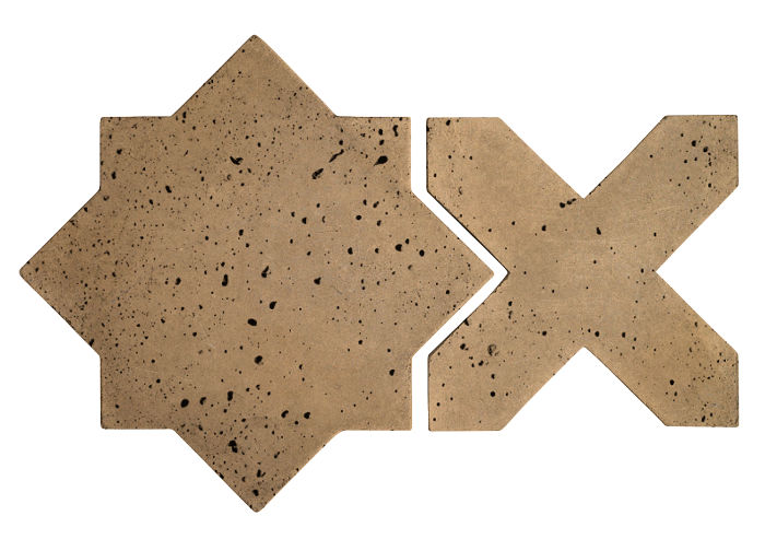 Artillo Arabesque 2C Caqui Travertine