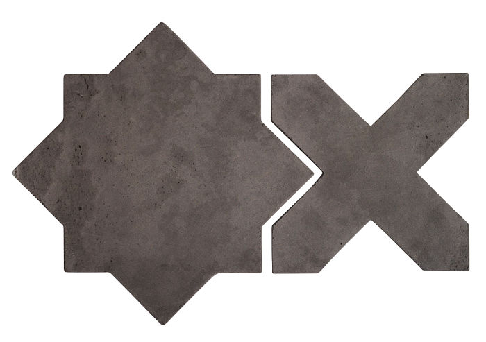 Artillo Arabesque 2C Charcoal Limestone
