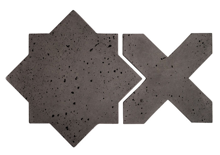 Artillo Arabesque 2C Charcoal Travertine