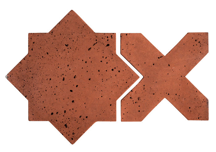 Artillo Arabesque 2C Mission Red Travertine