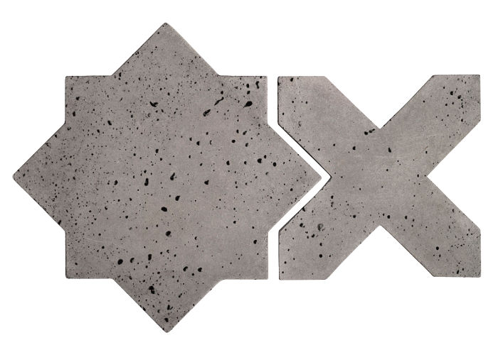 Artillo Arabesque 2C Sidewalk Gray Travertine