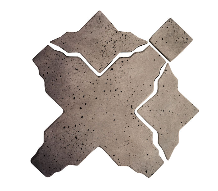 Artillo Arabesque 3 Antik Gray Travertine