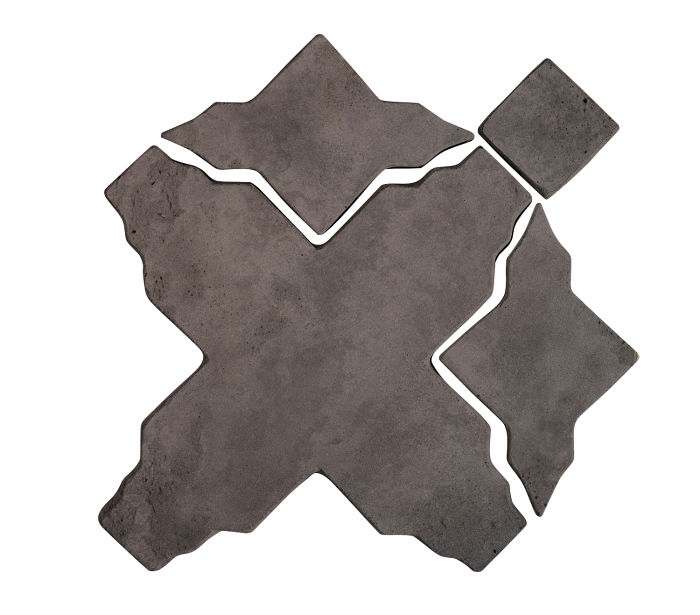 Artillo Arabesque 3 Charcoal Limestone