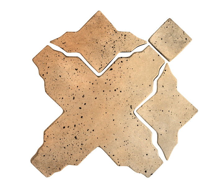 Artillo Arabesque 3 Hacienda Flash Travertine