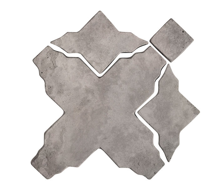 Artillo Arabesque 3 Sidewalk Gray Limestone